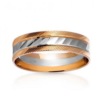 Кольцо обручальное из золота, 5мм