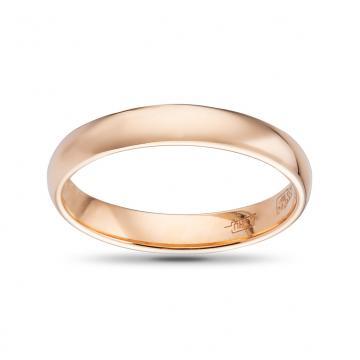 Кольцо из золота  обручальное