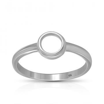 Кольцо TALANT из серебра, коллекция Геометрия