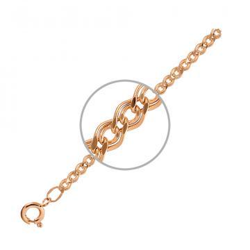 Цепочка TALANT, плетение Нонна, из золота