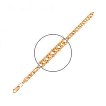 Цепочка TALANT, плетение Ромб двойной, из золота