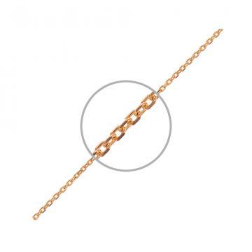 Цепочка TALANT, плетение Якорь, из золота