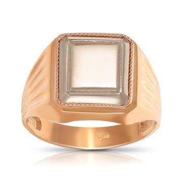 Кольцо-печатка из золота