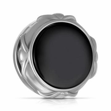 Подвеска-шарм из серебра с керамикой