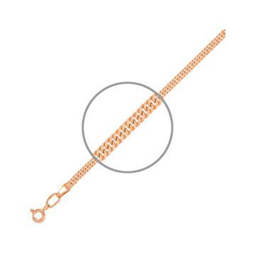 Цепочка TALANT, плетение Панцирь двойной, из золота