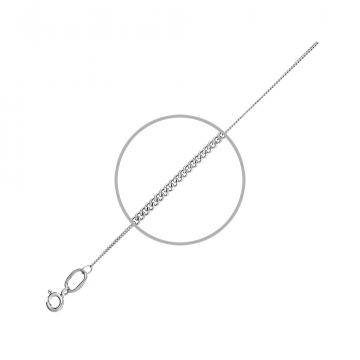 Цепочка, плетение Якорное, из серебра