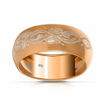Кольцо обручальное SOKOLOV из серебра