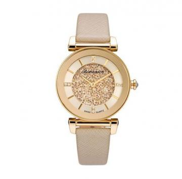 Часы наручные Romanson RL 6A29L LG(GD)