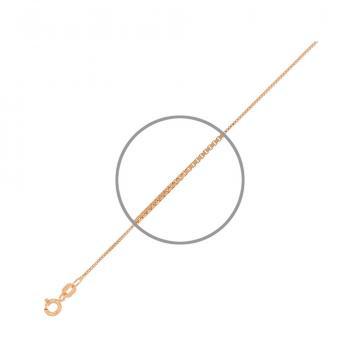 Цепочка, плетение Венецианское, из серебра