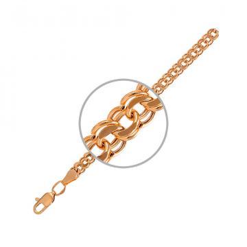 Цепочка TALANT, плетение Бисмарк, из золота