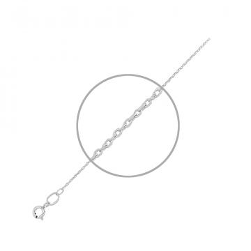 Цепочка TALANT, плетение Якорь, из серебра