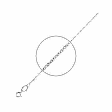 Цепочка, плетение Якорь, из серебра