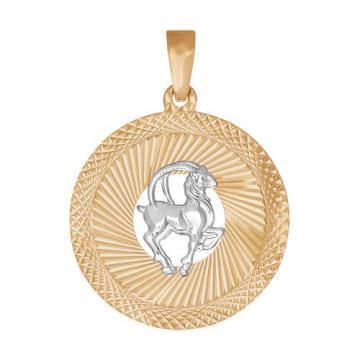 Подвеска SOKOLOV из золота, знак зодиака Козерог