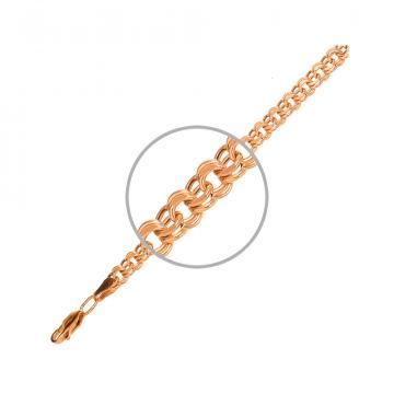 Цепочка TALANT, плетение Гарибальди, из золота
