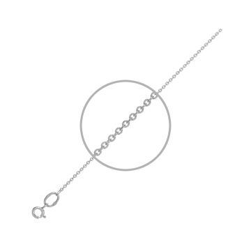 Цепочка, плетение Ролло, из серебра