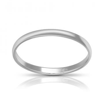 Кольцо TALANT обручальное из серебра