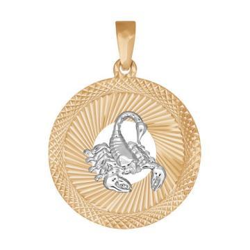 Подвеска SOKOLOV из золота, знак зодиака Скорпион