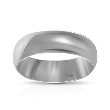 Кольцо обручальное TALANT из серебра, 5 мм