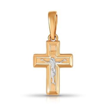 Крестик TALANT из золота
