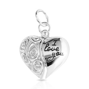Подвеска Сердце SOKOLOV с эмалью из серебра