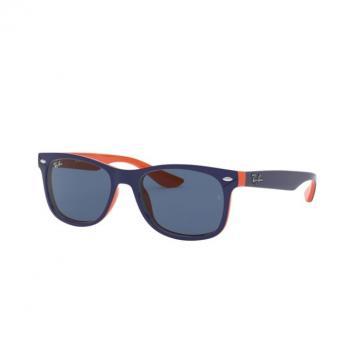 Очки RAY-BAN JUNIOR NEW WAYFARER TOP BLUE ON ORANGE 0RJ9052S