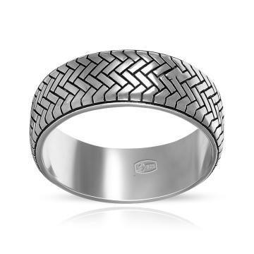 Кольцо-печатка TALANT Покрышка из серебра
