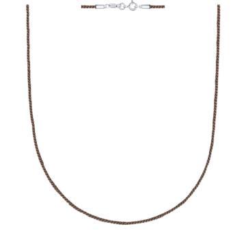 Шнурок SOKOLOV с застежкой из серебра
