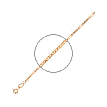 Браслет TALANT, плетение панцирь, из золота