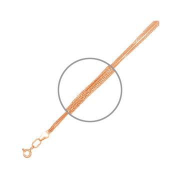 Браслет TALANT, плетение Панцирь двойной, из золота