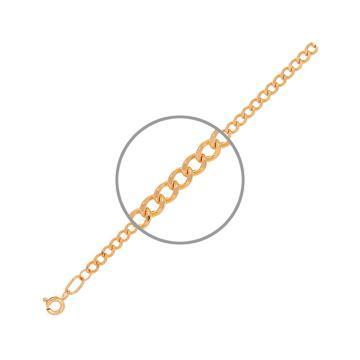 Цепочка TALANT, плетение Панцирь, из золота