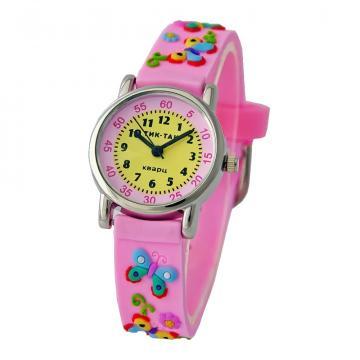 Часы детские Тик-Так 101-2#РОЗ.БАБ