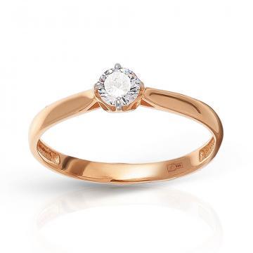 Кольцо TALANT из золота с фианитом