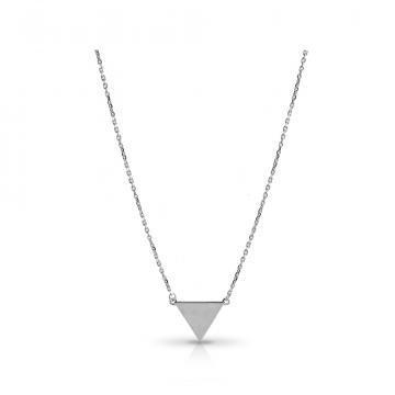 Колье TALANT Треугольник из серебра,коллекция Геометрия